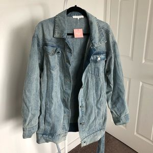 Miss Lola Jackets & Coats - Denim Dress/Jacket currently sold out